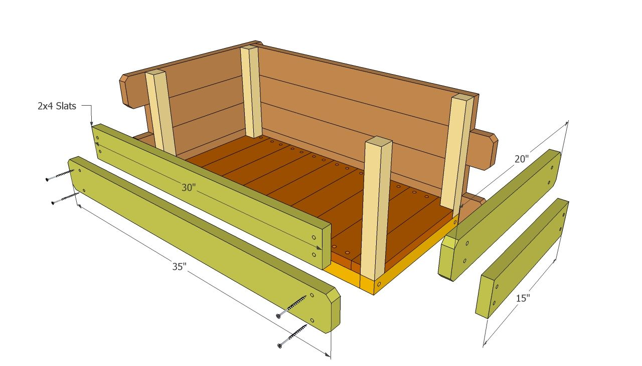 Flower Box Plans Howtospecialist How To Build Step By Step Diy Plans Planter Box Plans Wooden Flower Boxes Flower Boxes