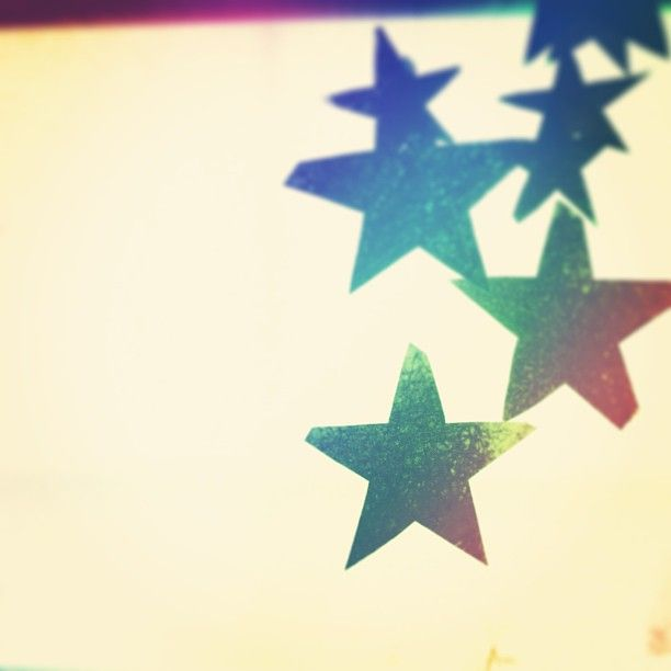 Window stars #stars #rainbow