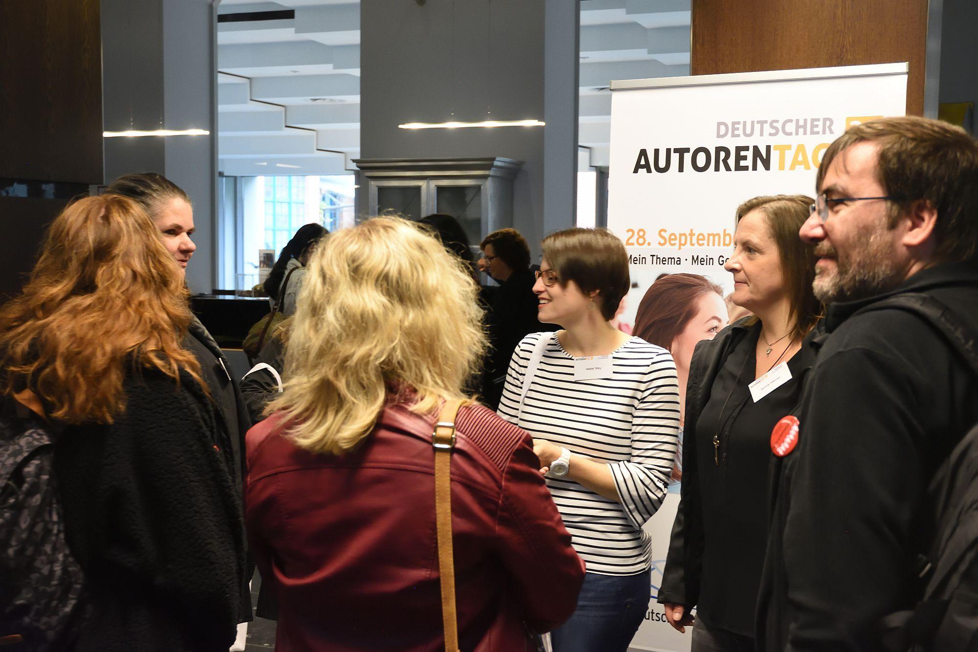 Erste Begegnungen beim Deutschen Autorentag 2019 (mit
