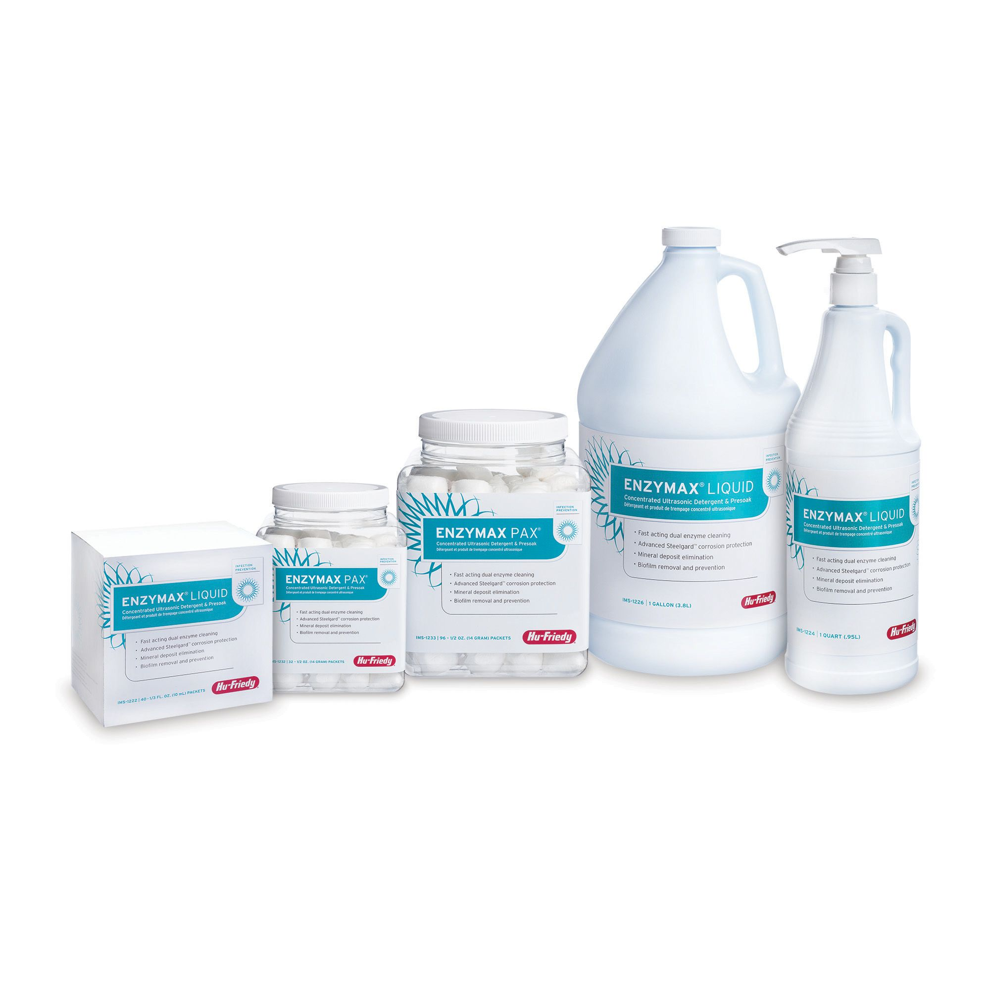 ENZYMAX® LIQUID CONCENTRATED ULTRASONIC DETERGENT AND