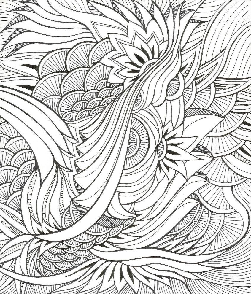 fancy mandala coloring pages - photo#16