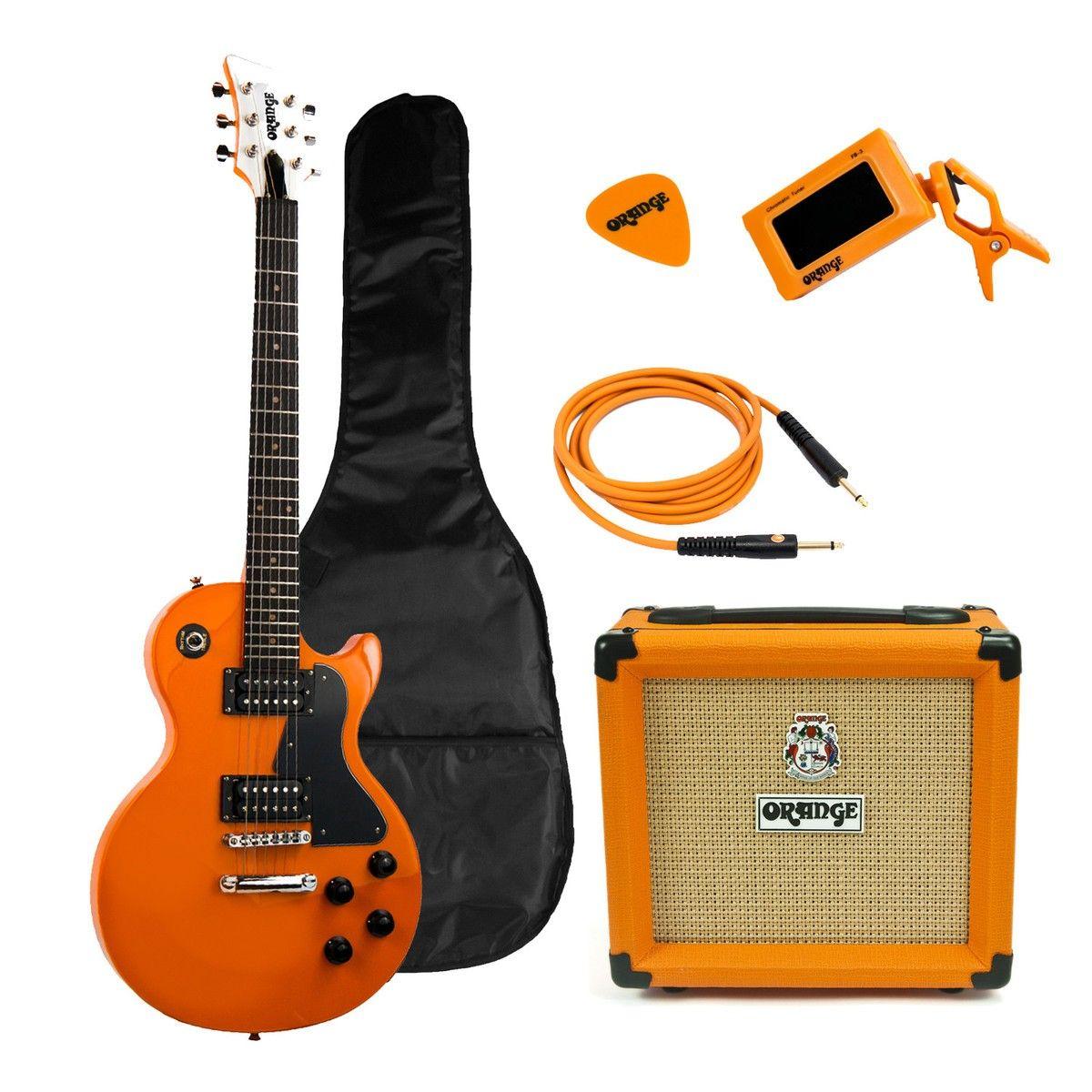 orange crush pix cr12l guitar and amp starter pack orange guitar room guitar guitar amp. Black Bedroom Furniture Sets. Home Design Ideas