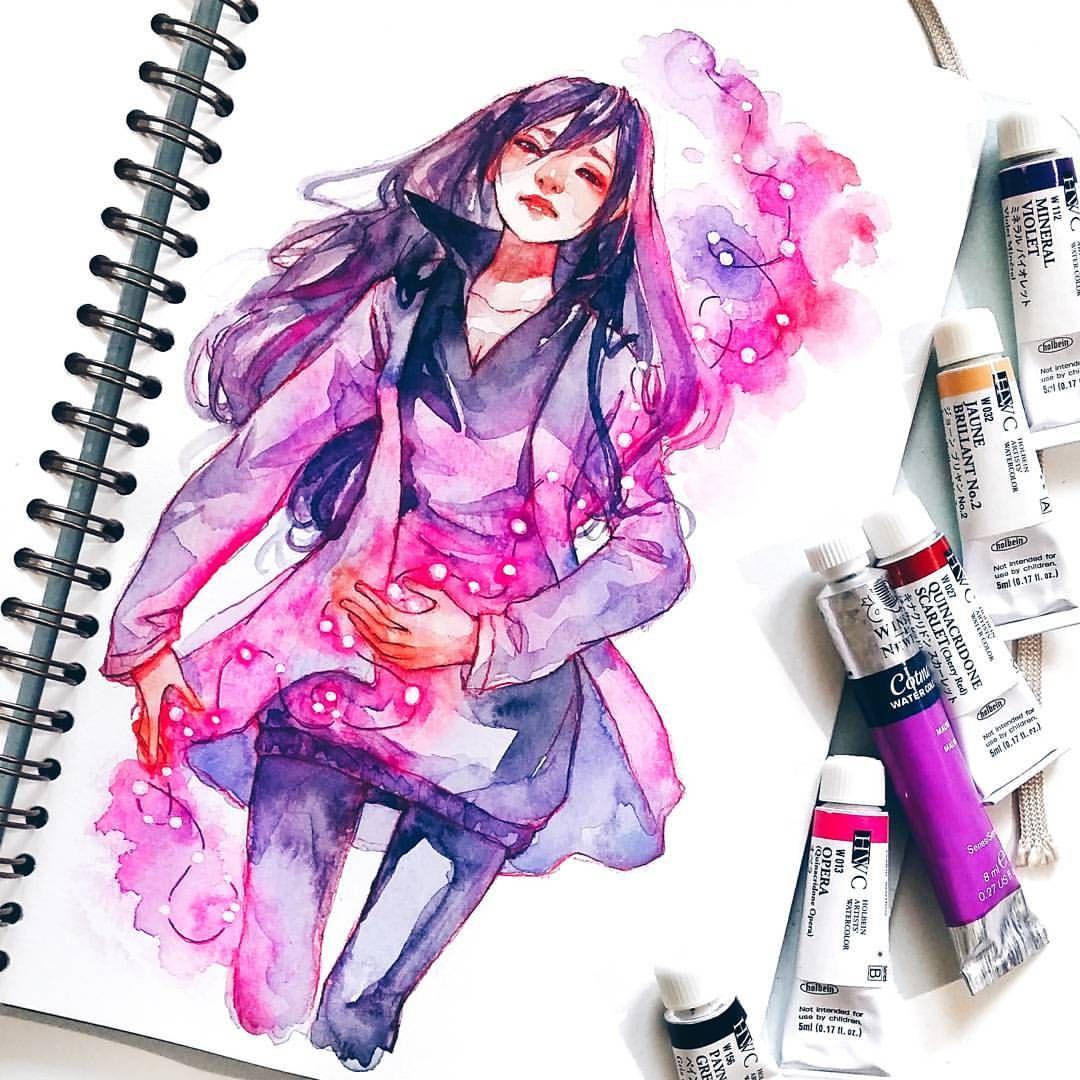 Pin By Terri Ann Kisaberth On Exercise: Pin By Love Terri Ann On 水彩 Watercolour