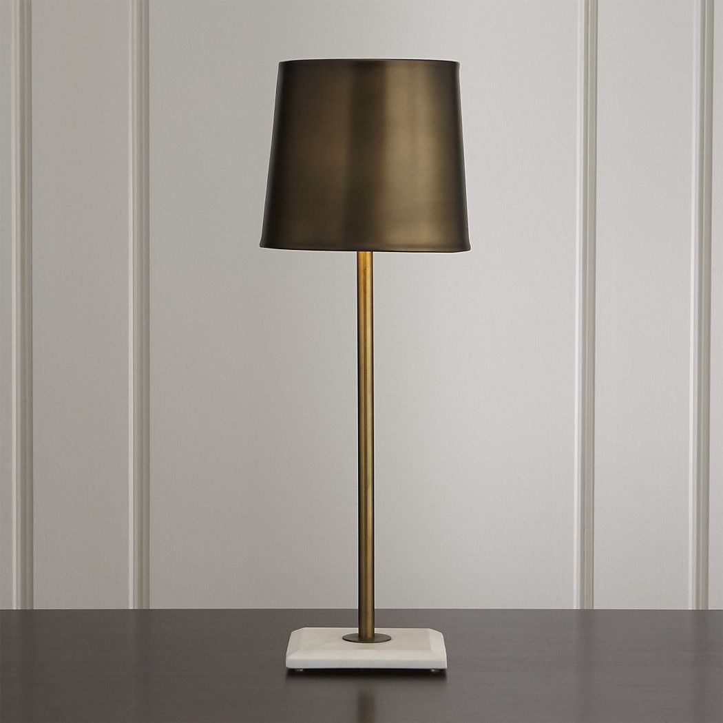 R149 Shop Astor Brass Buffet Lamp The Astor Buffet Lamp Mixes Up Materials For Look That Buffet Lamps Interior Light Fixtures Elegant Dining Room