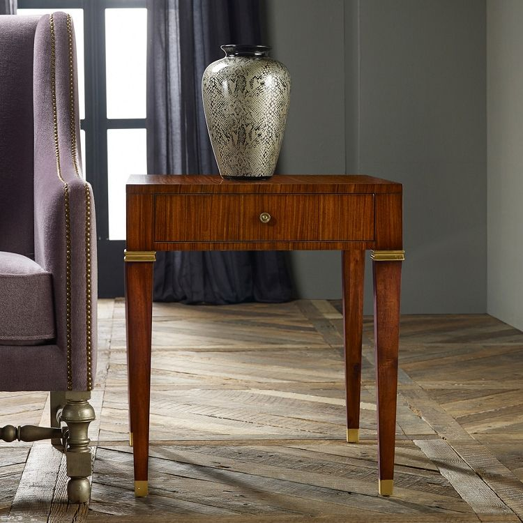 Modern History Modern Rosewood End Table End Tables Modern