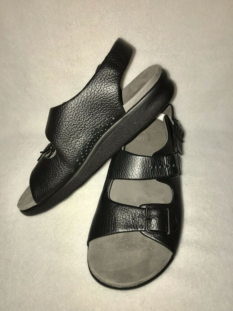 228a37d1d NWOT Sas Relaxed Sandals Leather Womens Comfort Sandals Low Heel size 8.5-m  #SAS #COMFORTSANDALS #Casual