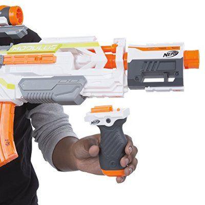 Explore Nerf Gun Attachments, Guns, and more! Nerf N-Strike Modulus ECS-10  Blaster