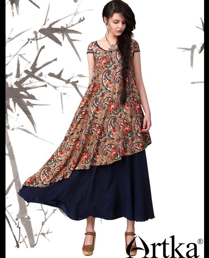 8cd1befeee8 Летнее двухслойное платье в стиле бохо с асимметричным низом ...
