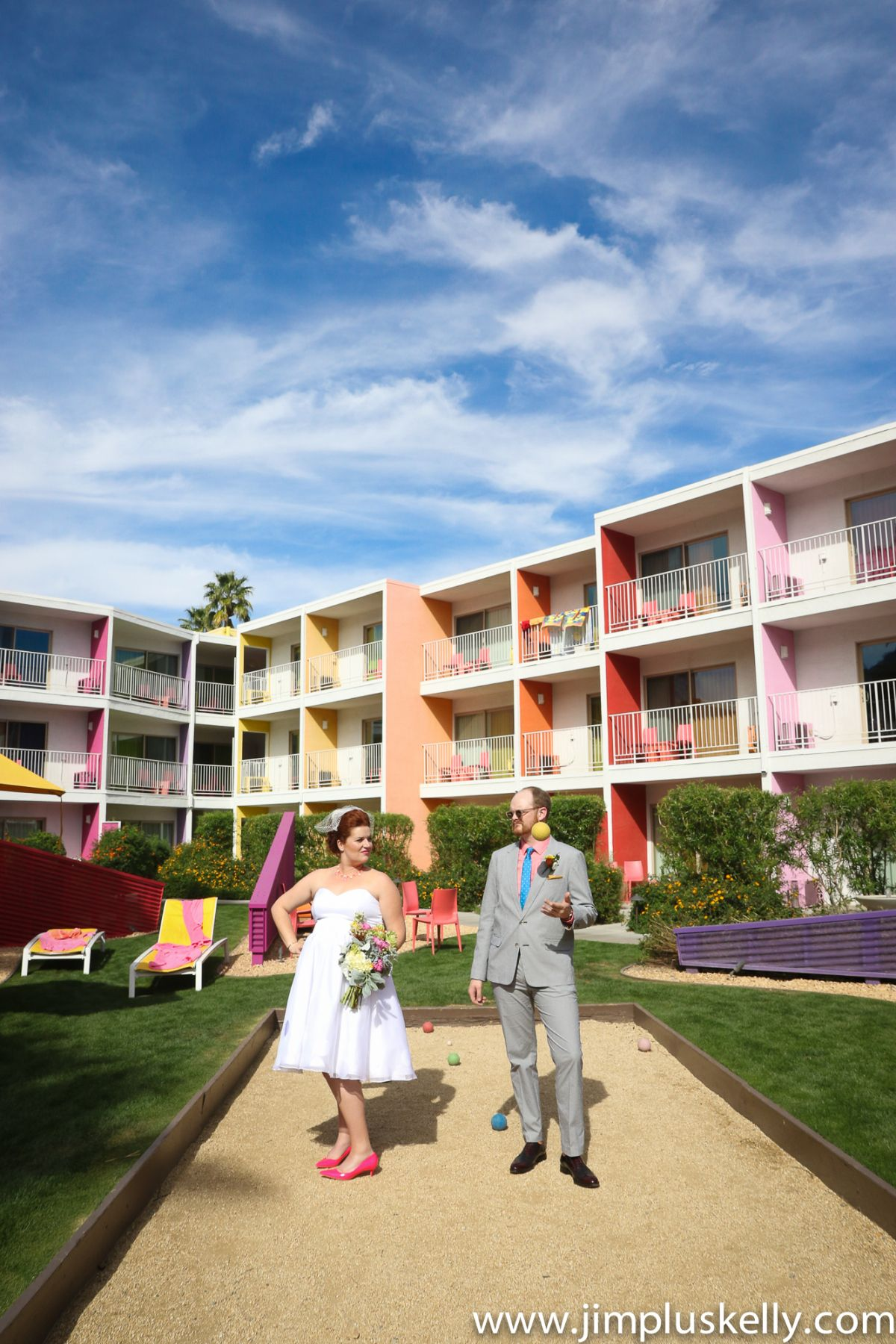 fun wedding at the saguaro palm springs itpalmsprings