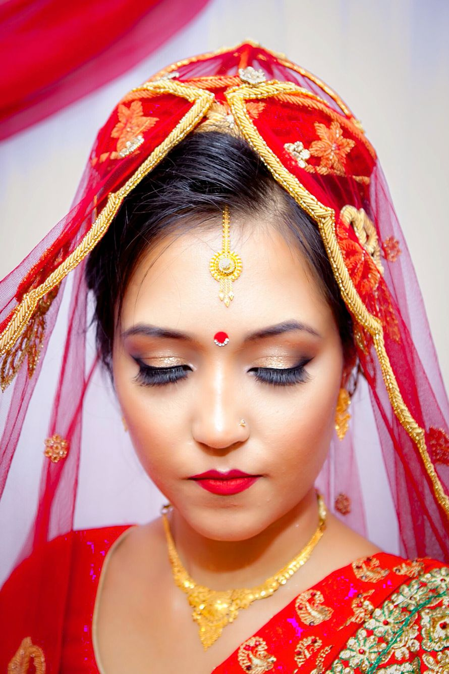 Nepali Bride Wedding Nepali Bridal Photography