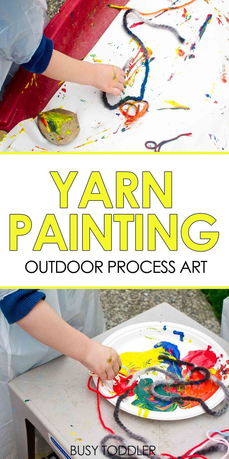 yarn painting preschool - photo #20