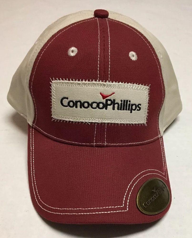 ConocoPhillips Hat Oil Gas Oilfield Baseball Cap Houston