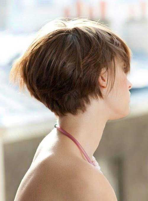 Short Graduated Haircuts For Women Fine Hair Styles For Thin Fine