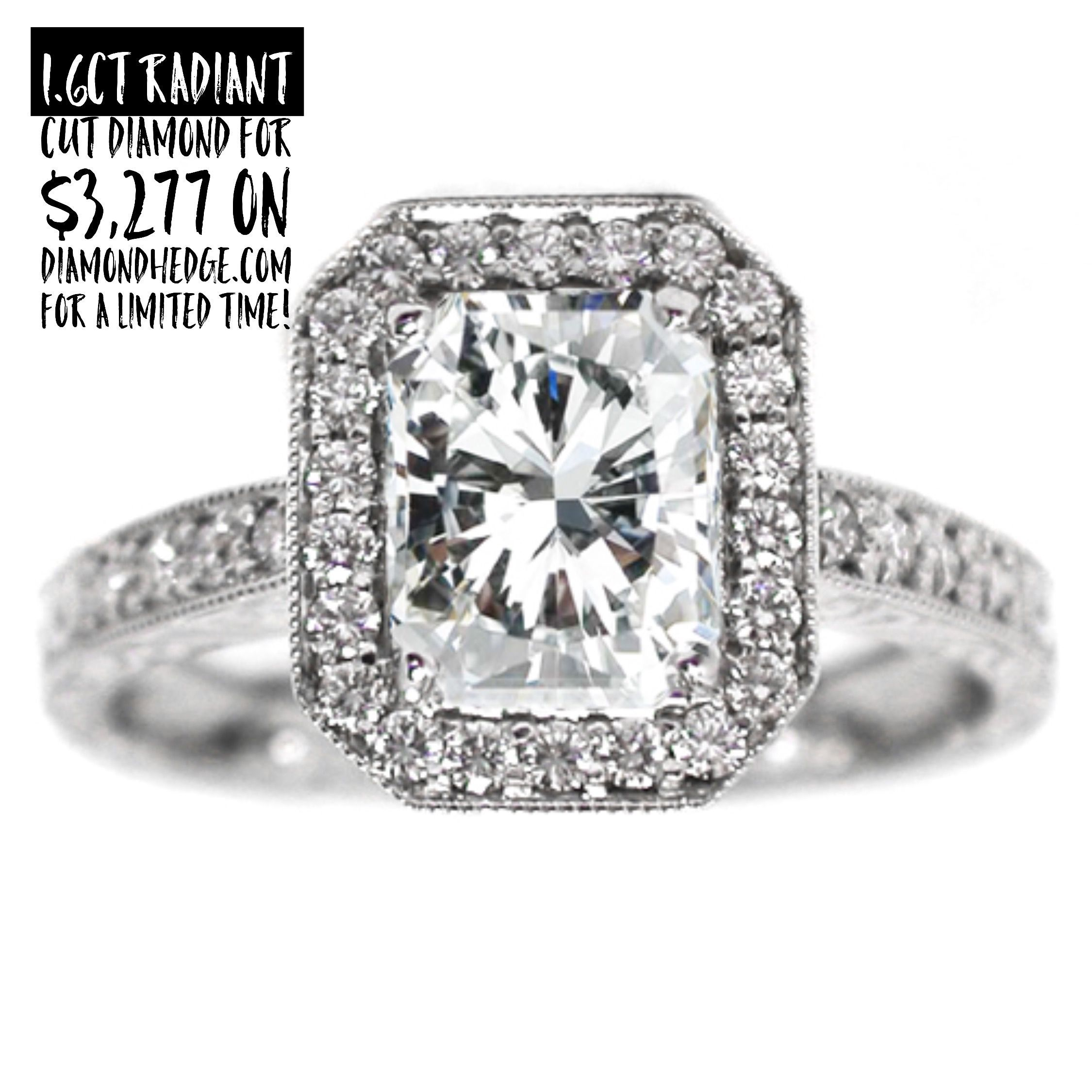 Ct radiant cut diamond for on diamondhedge for a
