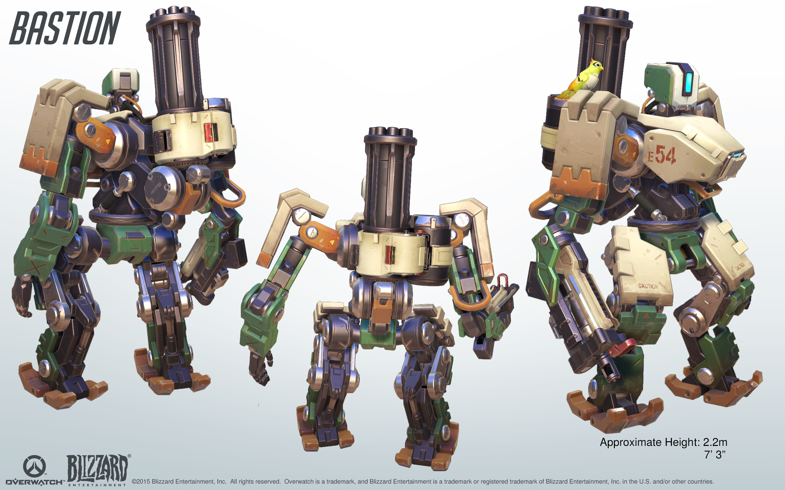 Bastion Cosplay Reference Guide 3 Overwatch Overwatch Bastion Overwatch Robot Overwatch
