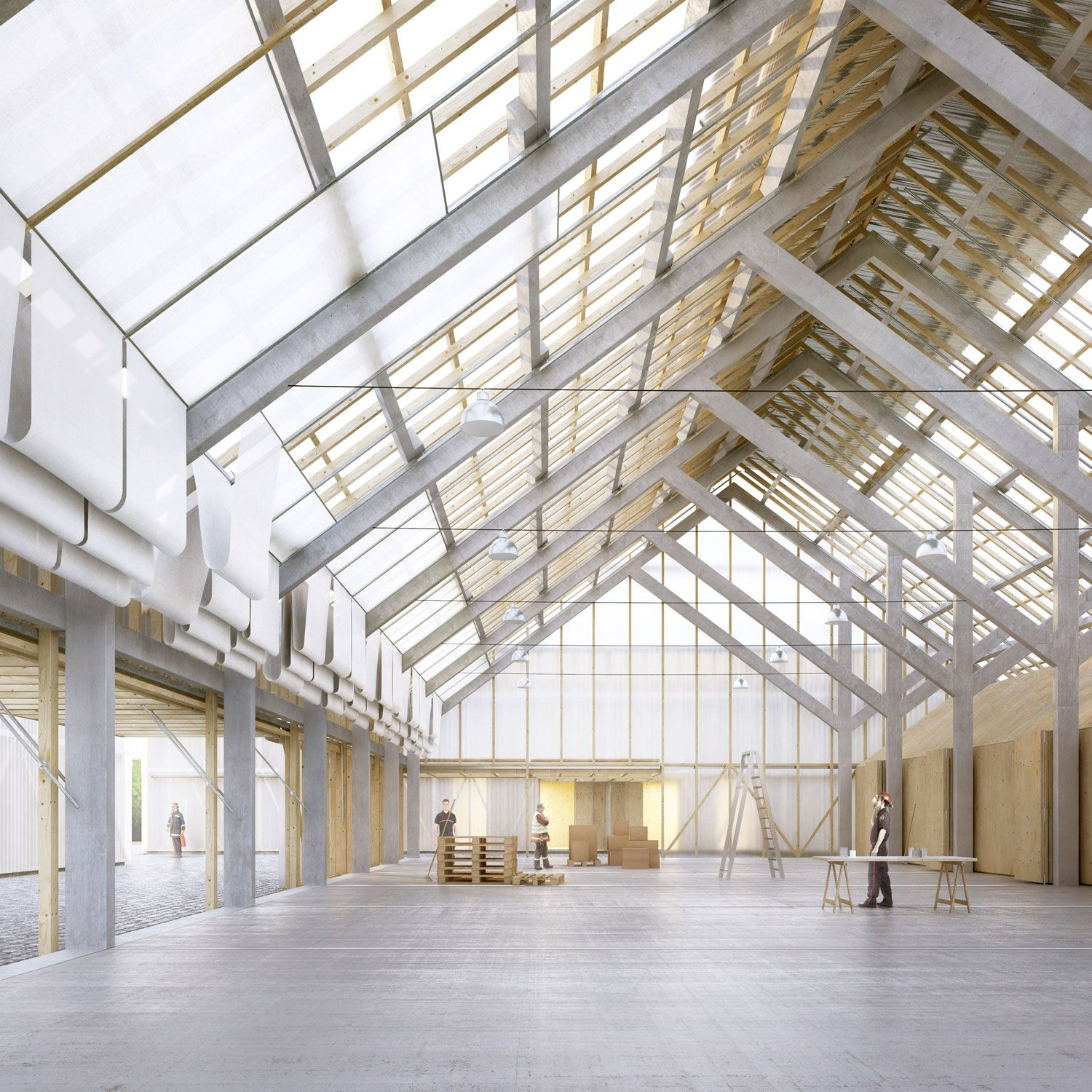 Road Centre In Genthod Ted A Arquitectes Beta Factory