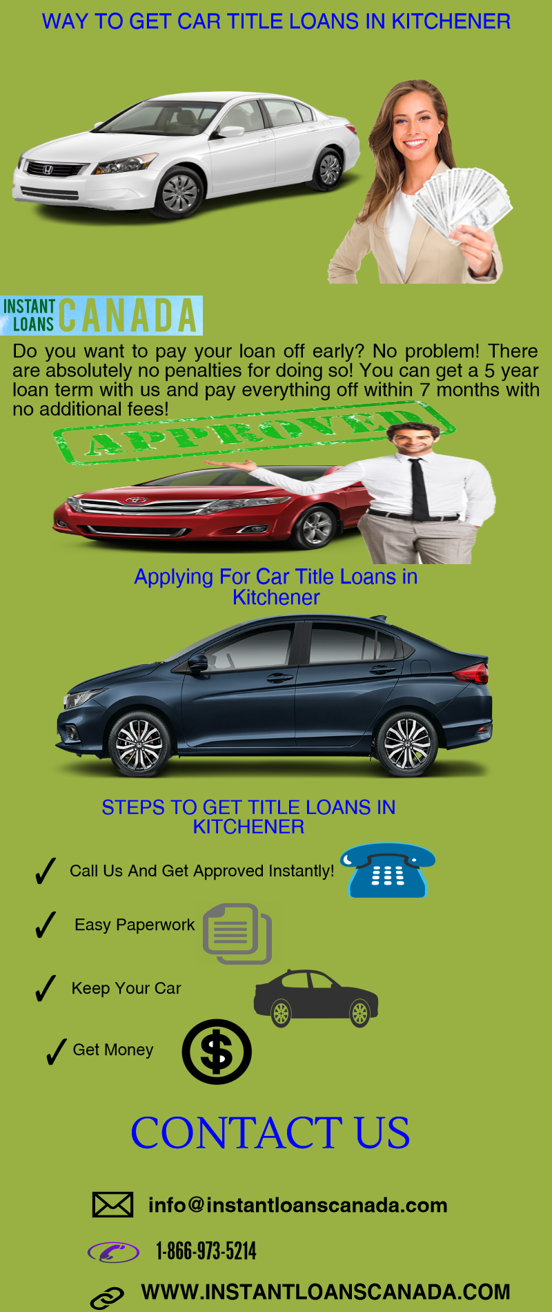 Are you looking for a Car Title Loan? If you are living in Kitchener ...