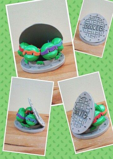 Fofuchas tortugas ninja