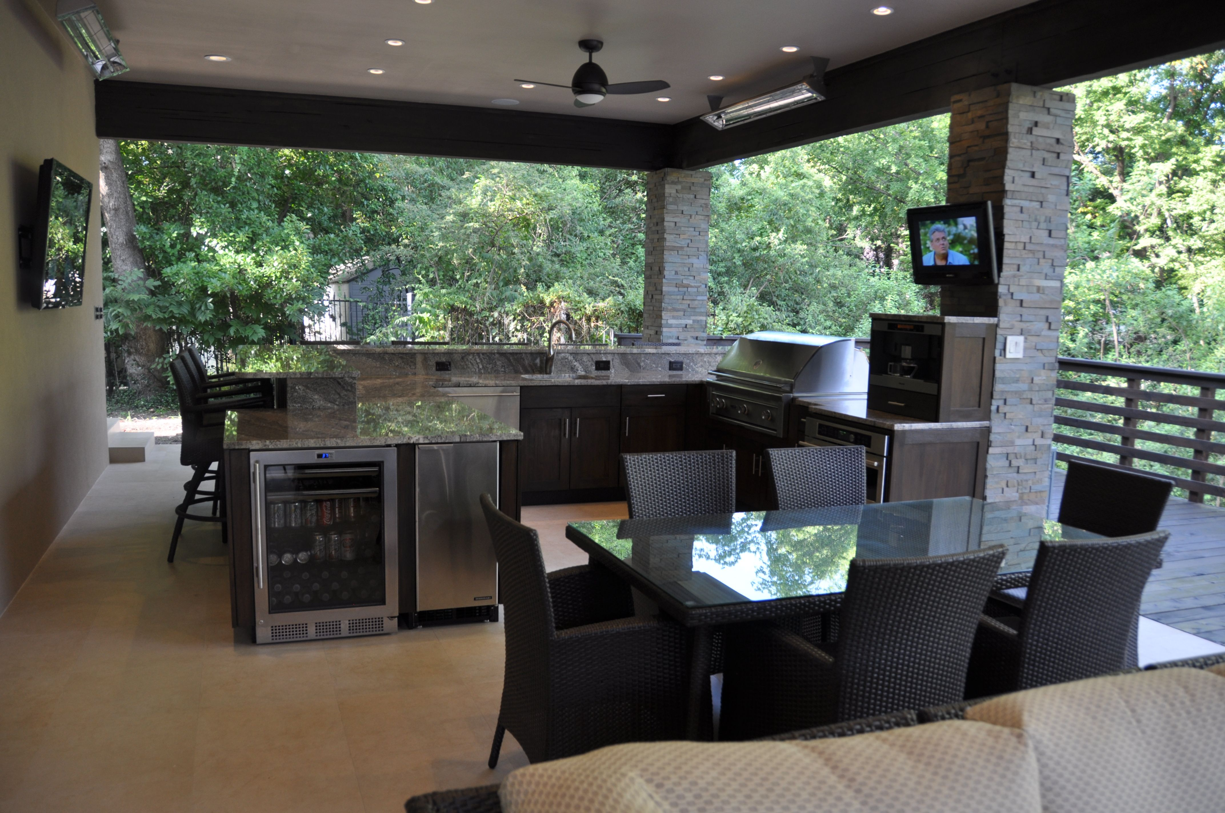 Outdoorkitchen  Outdoor Dallas Real Estate Fabulous Outdoor Prepossessing Outdoor Kitchen Designs Ideas 2018