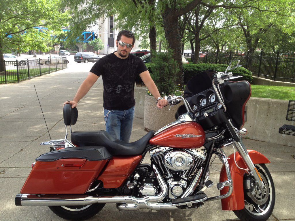 This is my bad boy iron horse! 2011 Harley Street Glide with