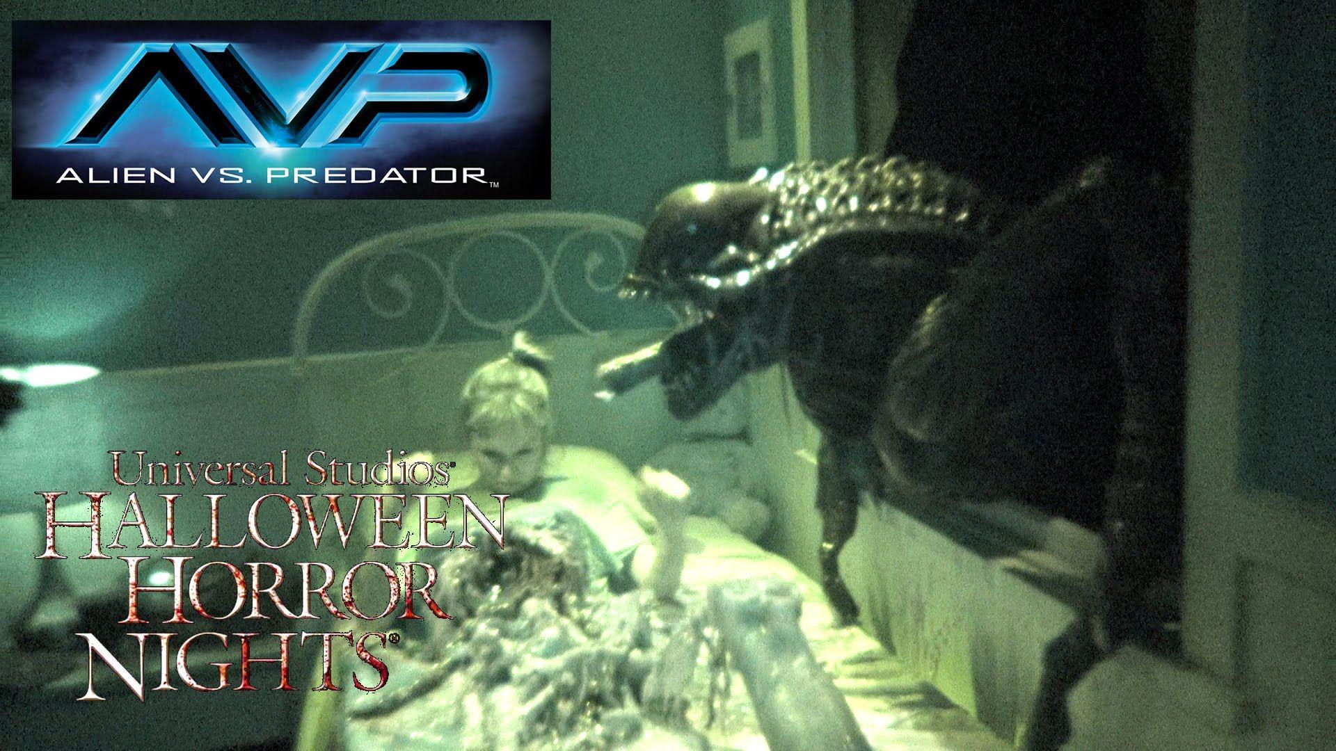 Alien Vs Predator Haunted House Maze Walk Through Halloween Horror