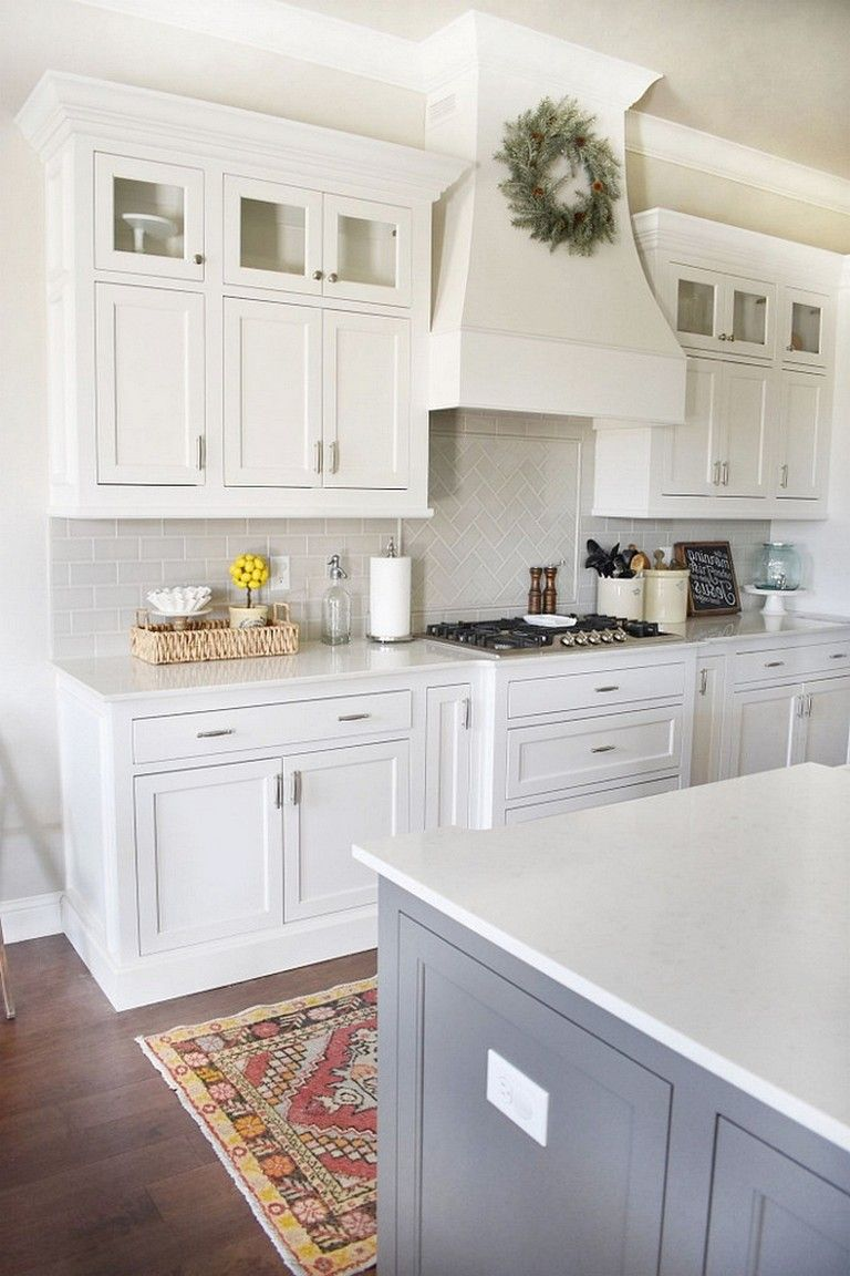 75 cozy and elegant farmhouse kitchen cabinets ideas kitchen cabinets decor farmhouse on r kitchen cabinets id=51613