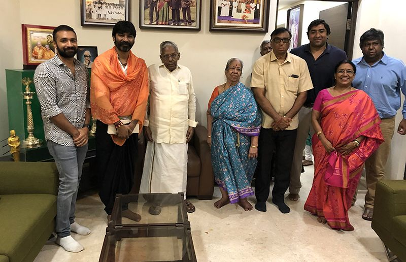 Actor Dhanush Untitled projects announcemen