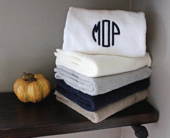 Monogram Towel Monogram Towel Set Personalized Towel