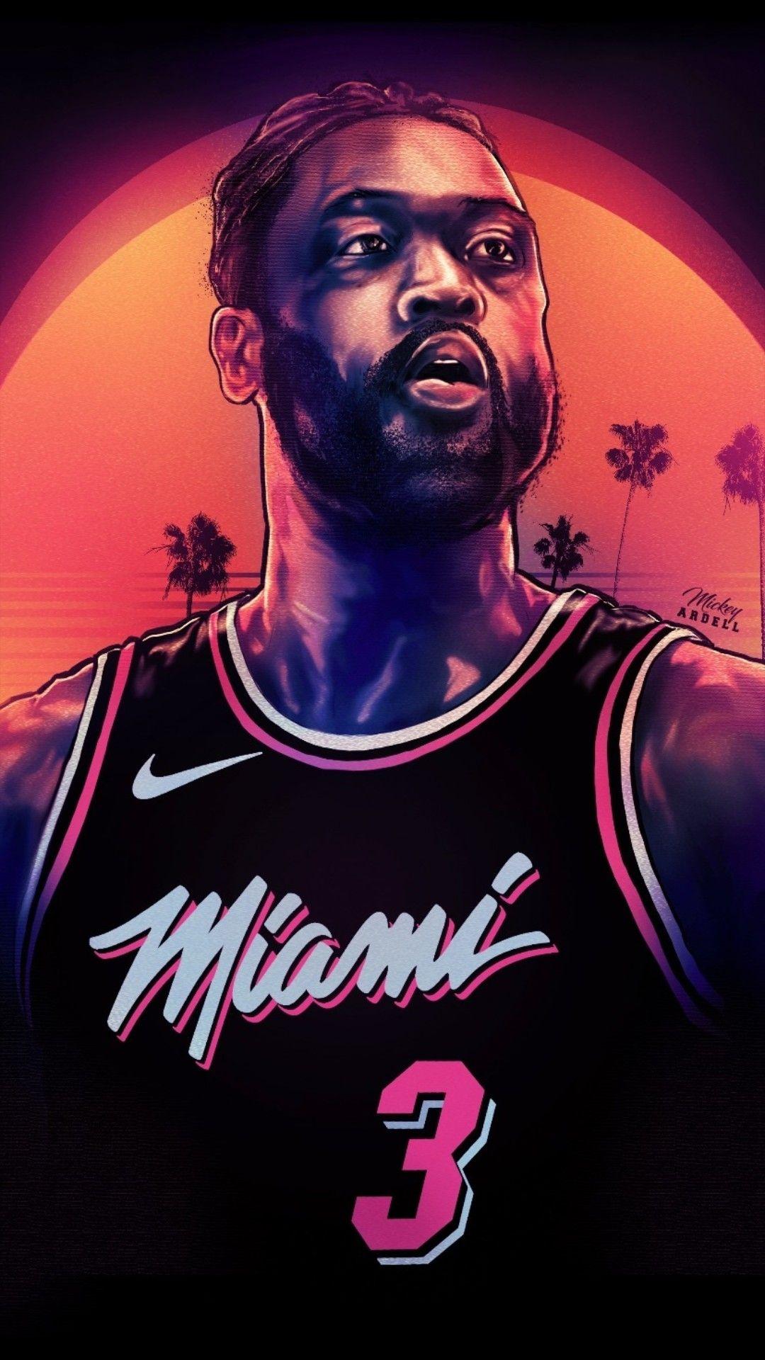Dwayne Wade Wallpaper Mvp Basketball Nba Basketball Art Nba Pictures