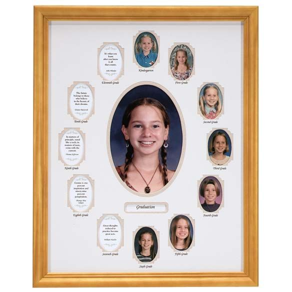 School Years Collage Frame - Beige | Photos and Frames | Pinterest ...