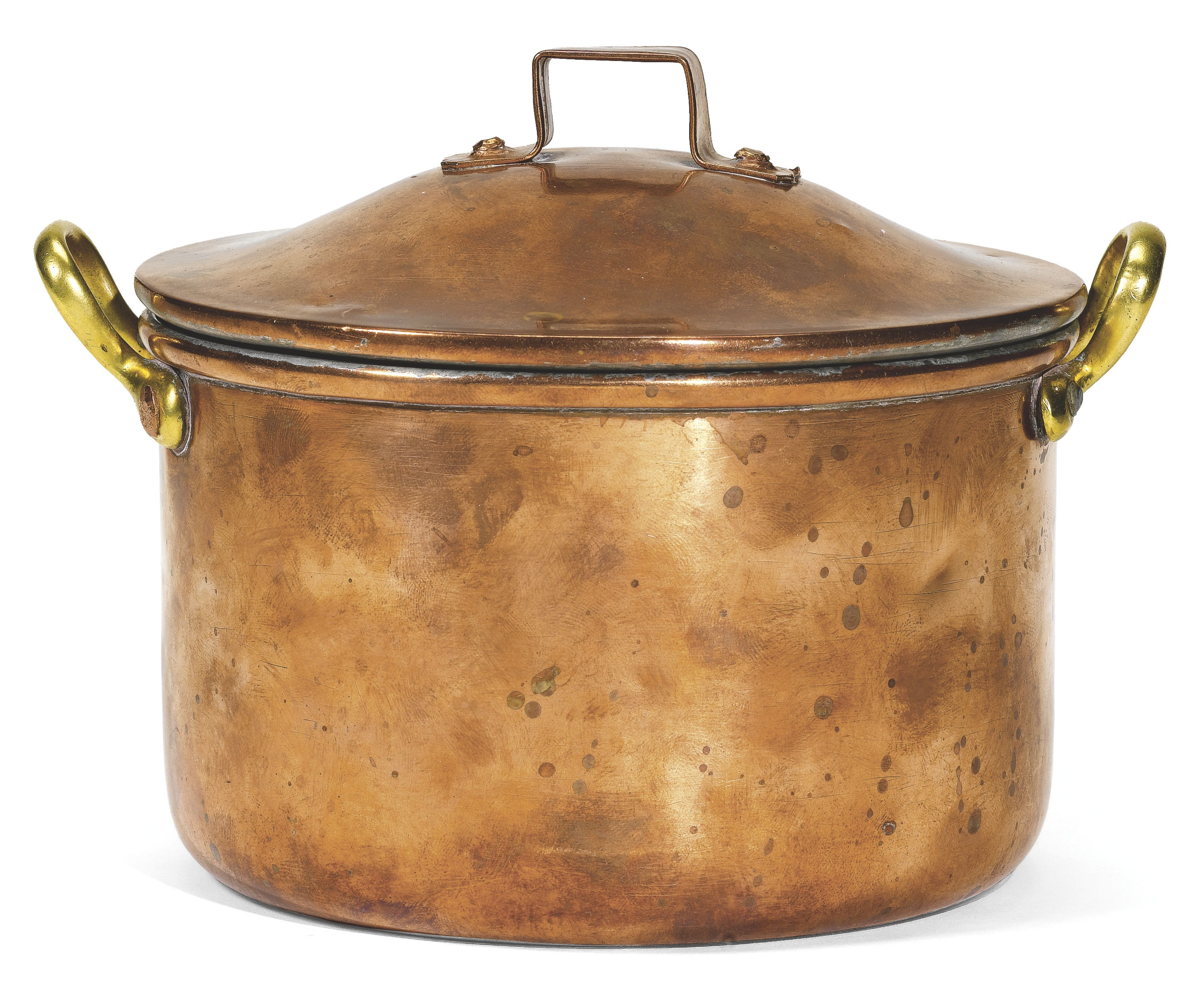 Cooking Pot War A FabergÉ Copper Cooking Pot 1914 Cylindrical With