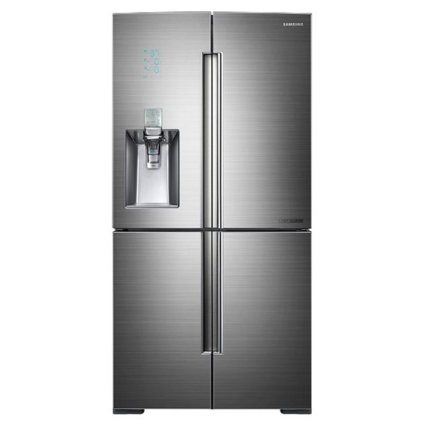 34 Cu Ft 4 Door Flex Chef Collection Refrigerator With Sparkling Water Dispenser Refrigerators Rf34h9960s4 Aa Samsung Us French Door Refrigerator Stainless Steel French Door Refrigerator Best French Door Refrigerator
