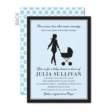 Chic Carriage: Chill Baby Shower Invitations