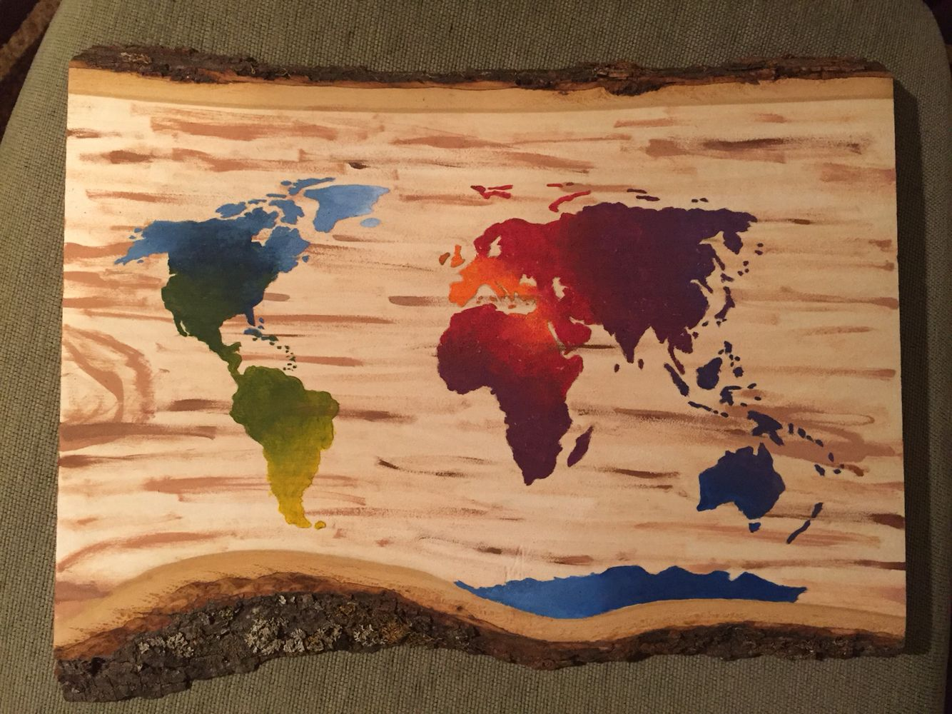 World map outline stencil painting on wood art gallery pinterest world map outline stencil painting on wood gumiabroncs Image collections
