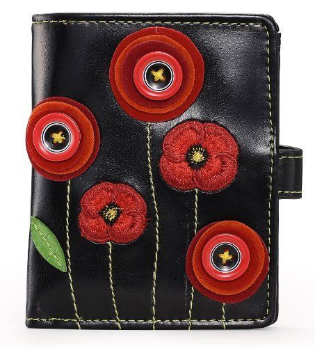 Poppy Medium Wallet - Black von Vendula, http://www.amazon.de/dp/B009UICEDY/ref=cm_sw_r_pi_dp_.0lTrb14FDBW7