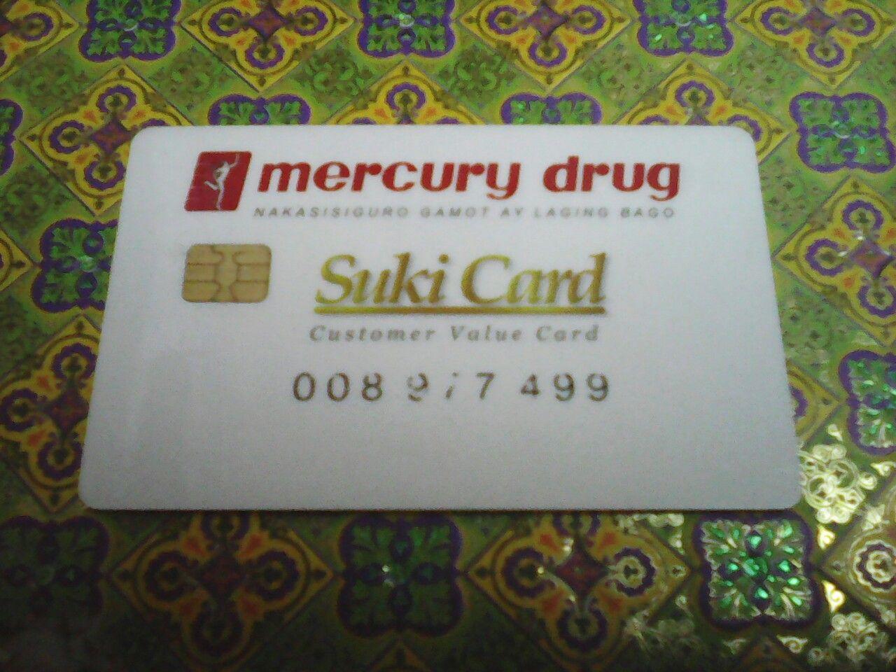 Mercury Drug Suki Card Palawan Express Pera