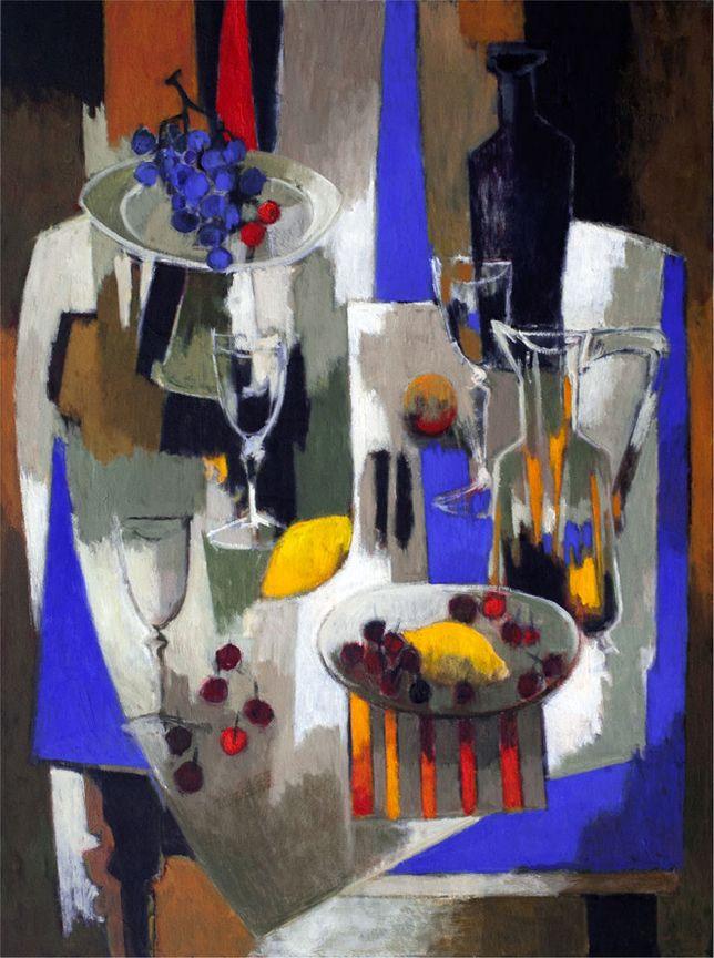 Raisins et Citrons, Painting, Pierre Pivet