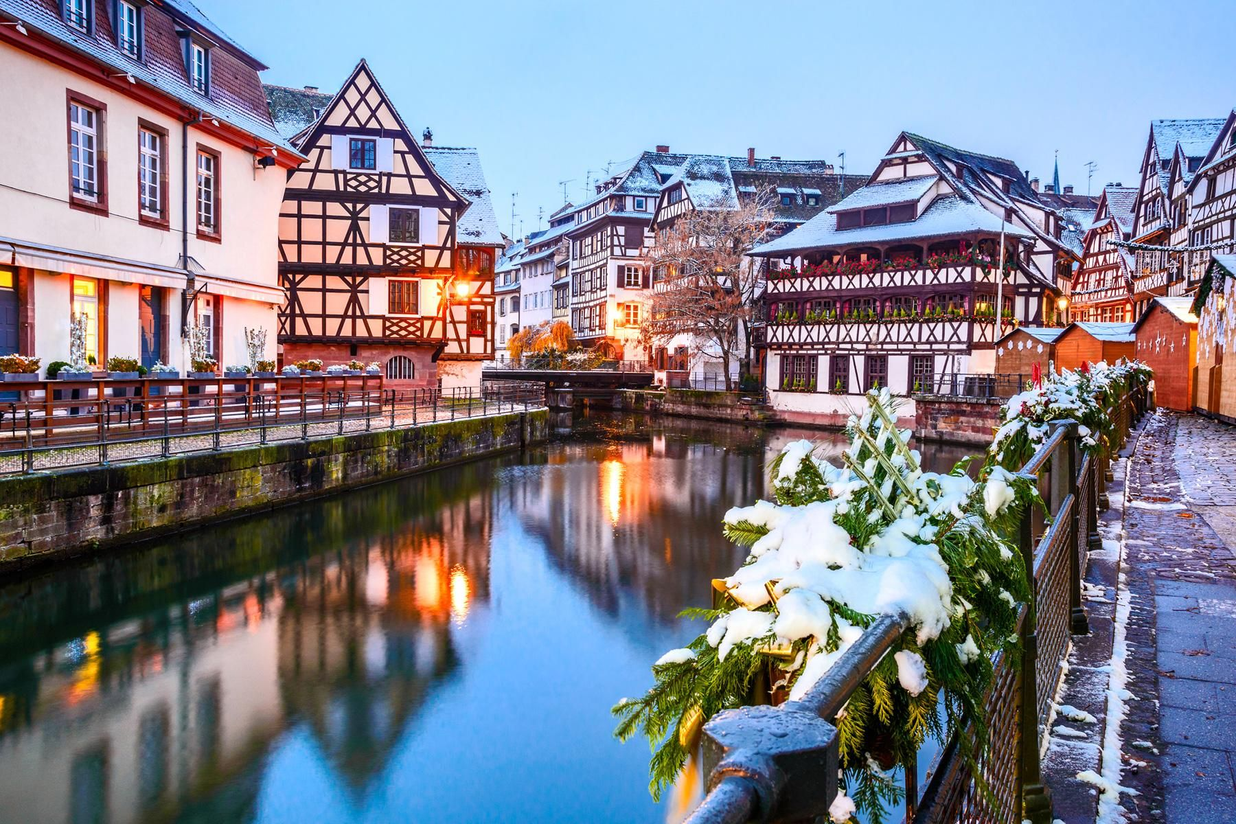 10 Cold Weather Destinations To Visit This Winter Strasbourg Strasbourg France Weekend Breaks
