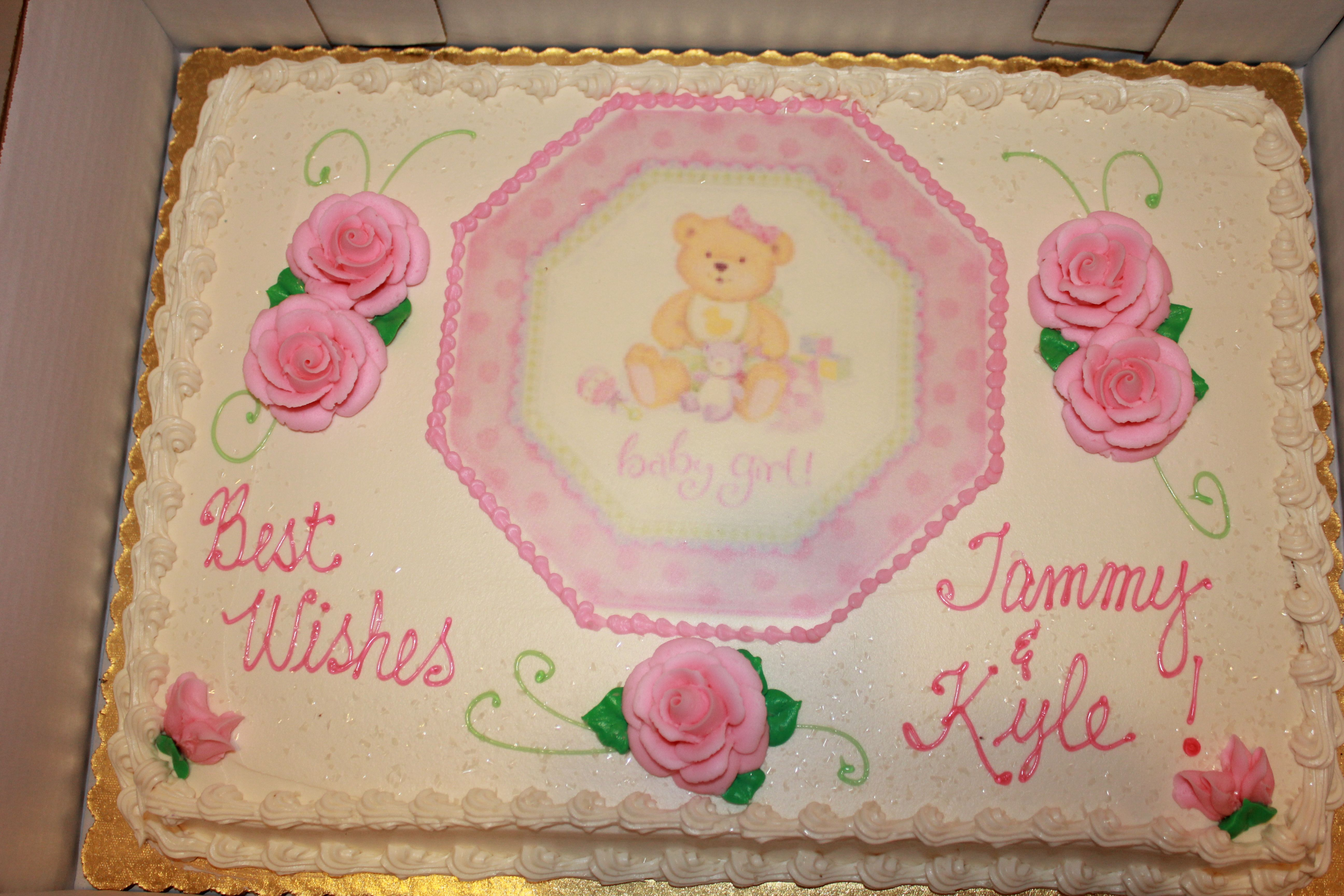 Fantastic This Was The Cake That Wegmans Bakery Made They Did An Awesome Funny Birthday Cards Online Fluifree Goldxyz