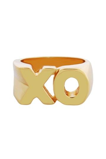 """XO"" Block Ring"