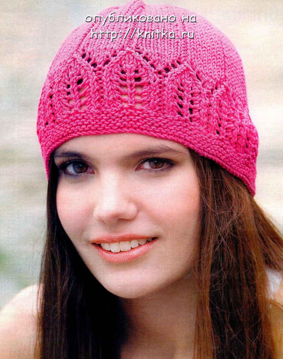 Модная летняя шапочка, Вязание для женщин | Вязаные ...