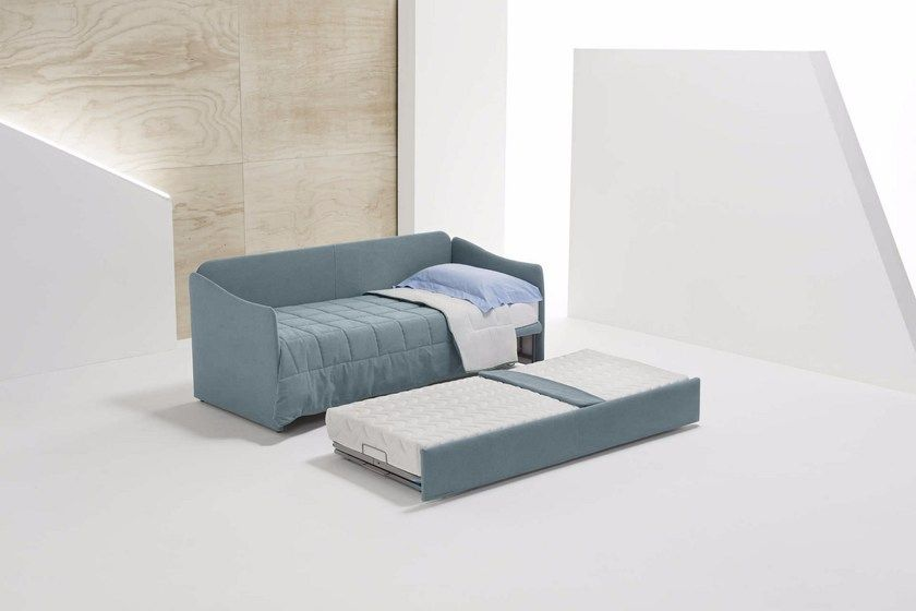 Upholstered 3 Seater Fabric Sofa Bed With Removable Cover Fabric Sofa Bed Sofa Bed Bed