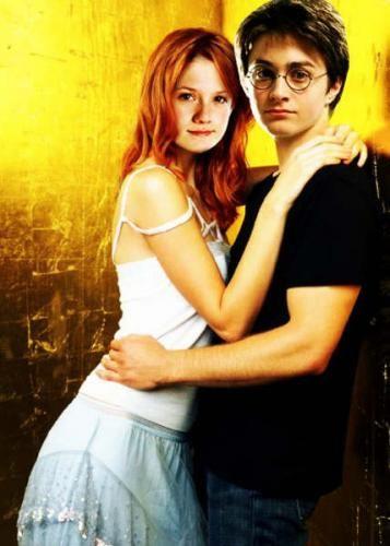 Harry Potter Harry Ginny Giny Weasley Filmes Casal