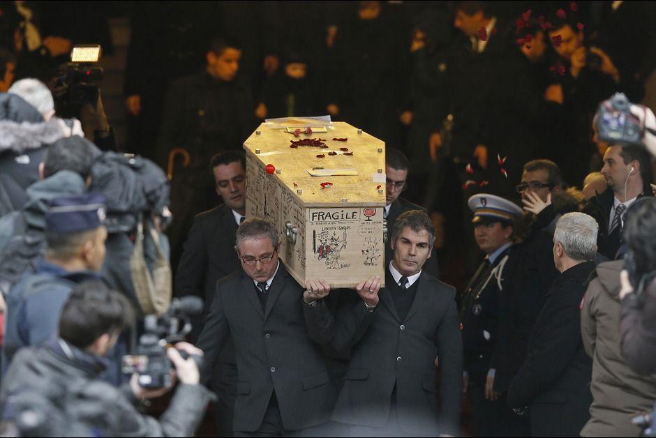 France. Obsèques de Tignous.