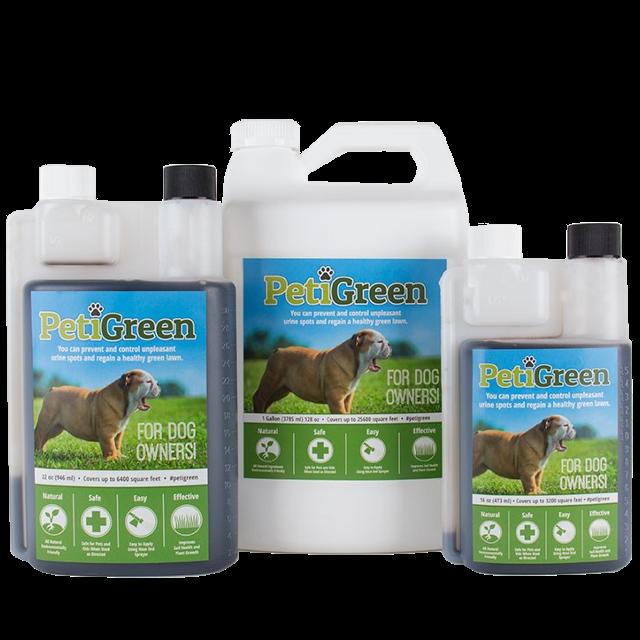 PetiGreen Products Dog urine, Urinal, Dead grass