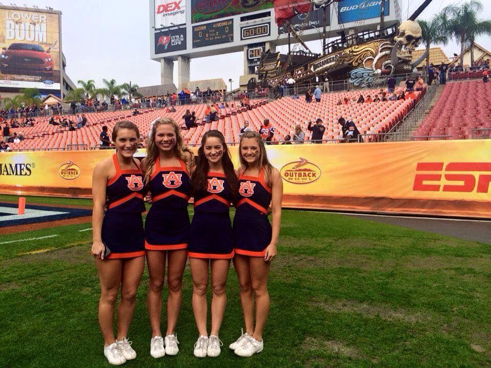 Auburn Cheerleaders Cheerleading Auburn Football Cheer