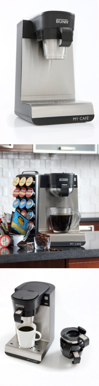 Bunn Mcu Single Cup Multi Use Home Coffee Brewer Bunn Coffee Coffee Maker Reviews Best Coffee Maker