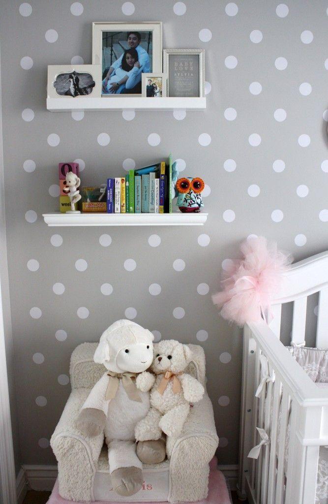 Deco papel infantil no gracias papeles pintados - Papel pintado bebe nina ...