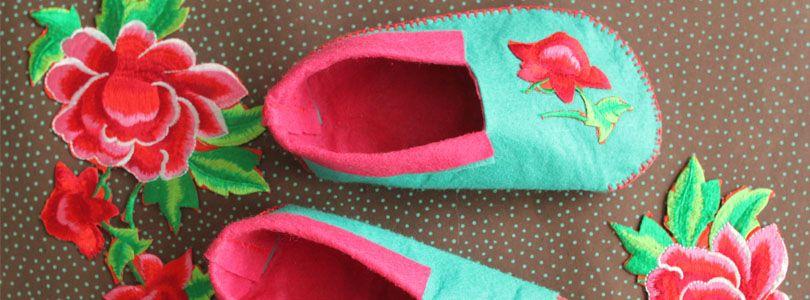 Fabriquer Des Chaussons En Feutrine Couture Baby Shoes Clothes