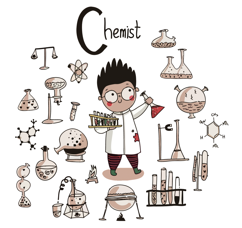 quimica ciencia cientista ilustracao vector little scientist 1500 1411 transg png download comportamento humano prod scientist cartoon scientist cartoon scientist cartoon scientist cartoon